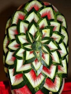 #Watermelon flowers #Food