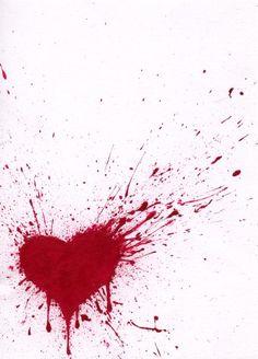 Just a mix. Black Background Photography, Photo Background Images, Photo Backgrounds, Broken Heart Drawings, Broken Heart Art, Trash Polka Tattoo, Blood Art, Heart Painting, Heart Shapes