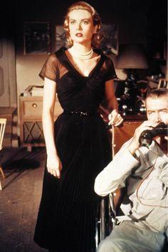 """I always loved GK's dress in """"Rear Window"""""""
