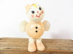 Mid Century Plastic Easter Baby Rattle by PherdsHolidayFinds