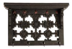 @mtsilversmiths Distressed Black Filigree Shelf! Only 1 Left in stock!