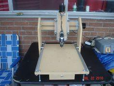 Rout-X, my CNC router | Let's Make Robots! Interesting rails
