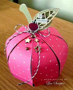 apple gift box for teacher