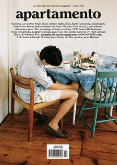 Apartamento Magazine Magazin The apartment of Chloe Sevigny Interior Design Magazine, Magazine Design, Graphic Design Magazine, Interiors Magazine, Book Design, Cover Design, Layout Design, Design Design, Design Trends