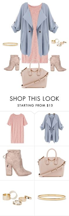 """""""Untitled #184"""" by andrea-geisler ❤ liked on Polyvore featuring Toast, Kendall + Kylie, Givenchy, MANGO, Kate Spade, cute, Pink, Blue, women and fashionset"""