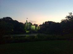 Belvedere Castle at dusk -Central Park NYC