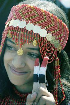 Arab girl from the great yemen