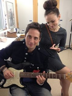 Jonny Harris and Georgina Reilly