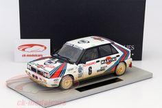 Lancia Delta 4WD, After Race Version, Rally Monte Carlo 1987, No.6, Biason / Siviero. Top Marques, 1/18. Price (2016): 180 EUR.