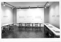 Joseph Kosuth: The Ninth Investigation, Proposition 1972.  Exhibition: Gallery Leo Castelli, New York, 4 E. 77th St. on Nov. 4-25, 1972.