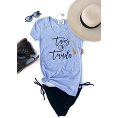 Tacos and Tequila Tee T Shirt Cinco De Mayo Tee T Shirt Taco Shirt... ($29) ❤ liked on Polyvore featuring tops, t-shirts, grey, sweatshirts, women's clothing, slim fit t shirts, graphic tees, long sleeve t shirts, long sleeve graphic t shirts and grey t shirt