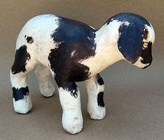 Paper Mache Baby Goat