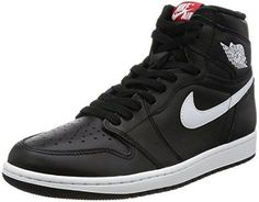 c837d35d290b Nike Jordan Men s Air Jordan 1 Retro High OG Black White Black Basketball  Shoe