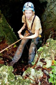"""Elizabeth Slack  Elizabeth Slack has been described as """"an absolutely fearless woman""""  This former US Peace Corps volunteer and member of the Jamaica Caves Organisation (JCO) now works for the Student Conservation Association (SCA). She  speaks three languages (Chinese, French, and English) and holds a Masters degree in parks and recreation. In 2004 Slack discovered a new cave in Niagara and in 2005 she participated in the Parks in Peril Project for The Nature Conservancy, and the St James…"""