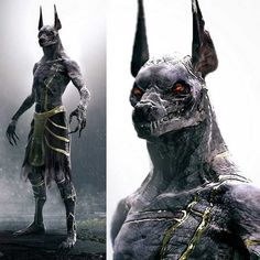 Tagged with awesome, anubis, gods of egypt; One of the most badass images of Anubis i've ever seen! Egyptian Tattoo, Egyptian Art, Egyptian Anubis, Mythological Creatures, Mythical Creatures, Dark Fantasy Art, Dark Art, Anubis Tattoo, Arte Obscura