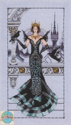 Mirabilia - The Raven Queen - Cross Stitch World