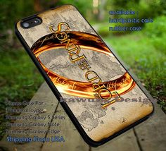 One Ring Lord of The Ring iPhone 6s 6 6s  5c 5s Cases Samsung Galaxy s5 s6 Edge  NOTE 5 4 3 #movie #TheLordofTheRings DOP7122