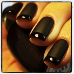 Black matte and glossy