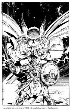 Thor #342 by Walt Simonson