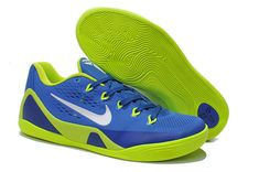 more photos 73686 c2db2 Kobe 9 EM ID Blue Hero Game Royal Metallic Silver Electric Green Kobe  Sneakers, Kobe