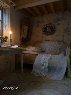 *♥ Atelier de Léa - Un Jour à la Campagne ♥*: La chambre bleue