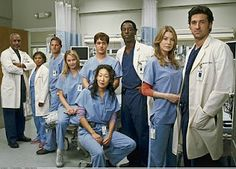 Grey's Anatomy  season 1.   It's been a while since I watched the first episodes