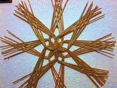 Como hacer estrellas de papel. DIY. How to make paper stars - YouTube Bamboo Weaving, Basket Weaving, Quilling Christmas, Waste Paper, Paper Crafts, Diy Crafts, Christmas Gifts, Christmas Ornaments, Paper Stars