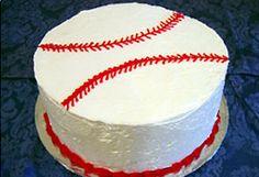 baseball cake (with instructions)