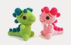 2000 Free Amigurumi Patterns: Free Pattern - Baby Dragon Rattle
