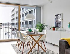 Image result for SLÄHULT Table top, white with eames chair
