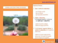 Expresar deseos + subjuntivo