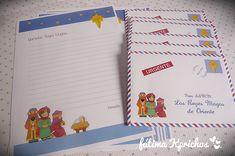 Carta Reyes Magos, Papá Noel y Olentzero para imprimir