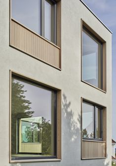 Image 10 of 20 from gallery of Tennisveien Villa Apartments / Arkitekter. Photograph by Åke E:son Lindman Keep The Lights On, Us Swimming, Modern Windows, Ideal Tools, First Apartment, Sit Back, Contemporary Architecture, Windows And Doors, Digital Prints