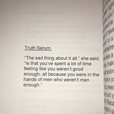 Truth Serum. | Page taken from 'Spilled Words: The Crimson Kiss Quote Collection' | There's a link in my bio . . #CiciB #spilledwords #thecrimsonkissquotecollection