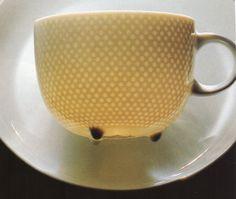 "Tapio Wirkkala - Glass cup ""Century"" for Rosenthal. Ceramic Clay, Porcelain Ceramics, Ceramic Pottery, Ceramic Artists, Art Object, Glass Design, Scandinavian Design, Cup And Saucer, Finland"