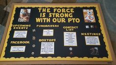 Star wars pto bulletin board