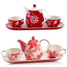 Tea for Two Gift Sets, cute idea for @Tara Block but needs to be Japanese style