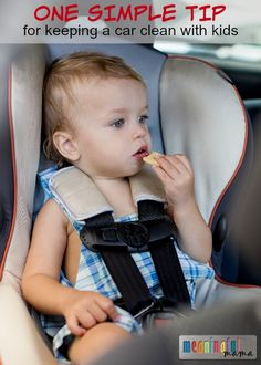 How to Keep a Clean Car with Kids