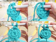 tuto panier crochet