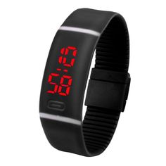 CLAUDIA 10 Colors Superior New Fashion Men and Women Watches Rubber LED 2016 Watch Date Sports Bracelet Digital Wrist Watch