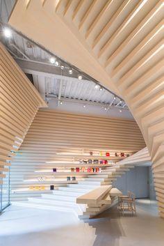 Kengo Kuma & Associates, Lucas K. Doolan · Whitestone Gallery Taipei