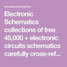 Electronic Schematics collections of free + electronic circuits schematics carefully cross-referenced into categories. Also included are links to design engineering electronics resources. Diy Electronic Kits, Electronic Schematics, Mechanical Engineering Design, Electronic Engineering, Diy Electronics, Electronics Projects, Diy Clock Kit, Bpd Quotes, Radio Kit