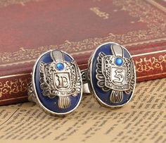 The Vampire Diaries Vintage Damon/Stefan Salvatore Sun Family Crest Rings JH in Jewelry & Watches, Fashion Jewelry, Rings