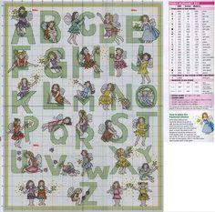 Tiny Fairies Alphabet
