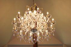"""Atelier """"rosenGarten"""" Chandelier, Ceiling Lights, Lighting, Home Decor, Atelier, Roses Garden, Crystals, Homemade Home Decor, Candelabra"""