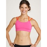 Women's Running Bra - Strappy Sports Bra | Oiselle Running Apparel for Women | I really want to try this bra, it's so cute!