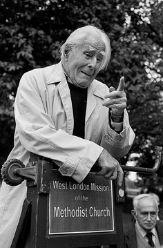 Soapbox superstars: 35 years at Speakers' Corner – in pictures  Lord Donald Soper, Methodist, who spoke regularly from 1926 until his death in 1998 'Those who see the Bible as a final judgment should read it, and various translations of it, before they talk the nonsense that the Bible is the word of God. The discussion of moral values is a waste of time until you equate the ambition with a definition. What are desirable values? I believe the cultivation of non-violence is the most imperative…