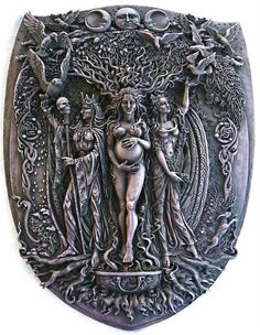 the Norns/triple Goddess/the three stages of life
