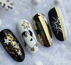 Cute Acrylic Nail Designs, Simple Acrylic Nails, Best Acrylic Nails, Christmas Gel Nails, Christmas Nail Designs, Holiday Nails, Xmas Nail Art, Stylish Nails, Trendy Nails