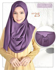 Lorell Loop Instant Shawl / Hijab RAMADHAN - RAYA PROMOTION (2nd Album)  http://tudung-instant-shawl-instant.tumblr.com/post/144886360284/instant-1-minit-siap-dengan-chiffon-georgette